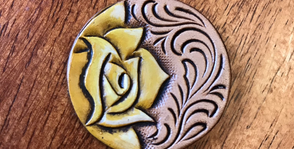 Yellow Rose Phone Grip Topper
