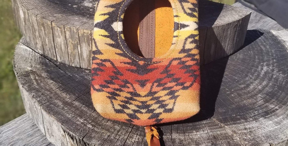 Aztec Gold Red Wipes Case