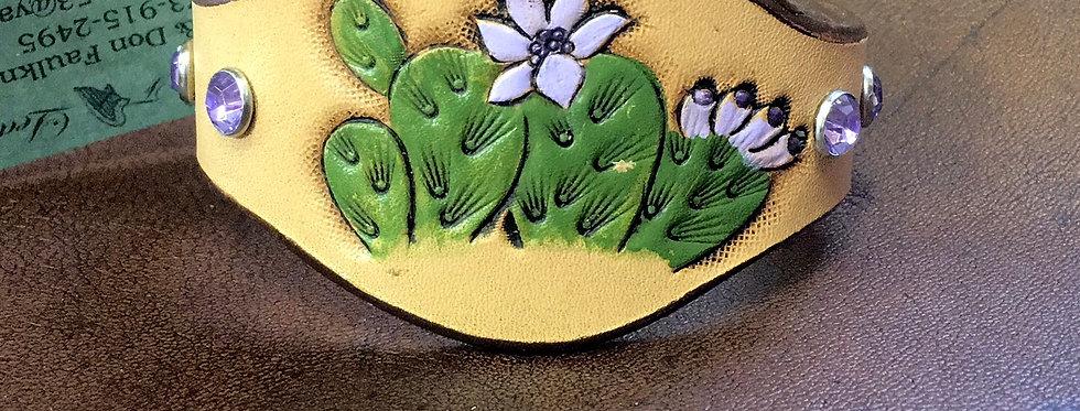 Purple Cactus Cuff