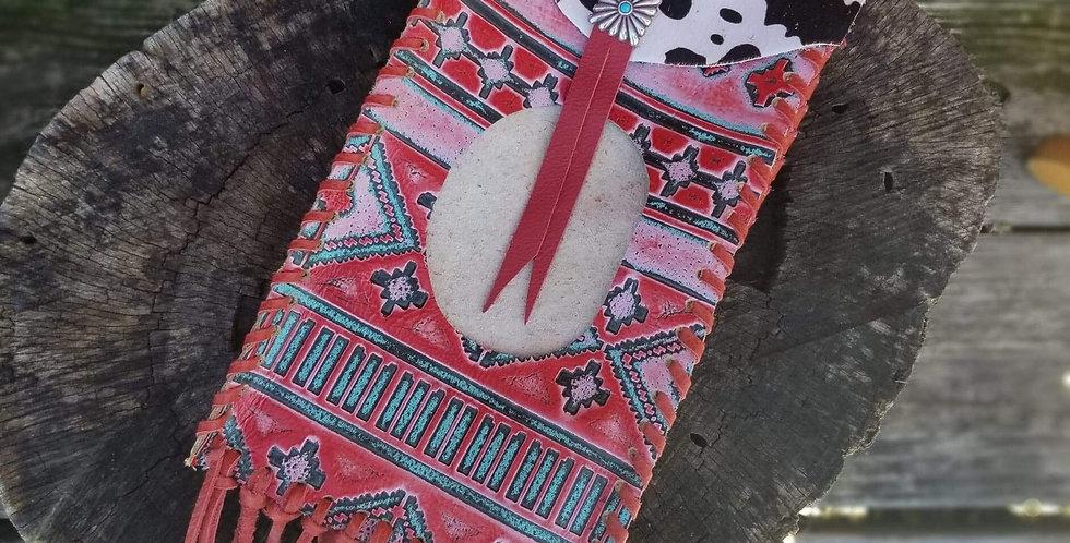 Aztec Cowhide Wipes Case