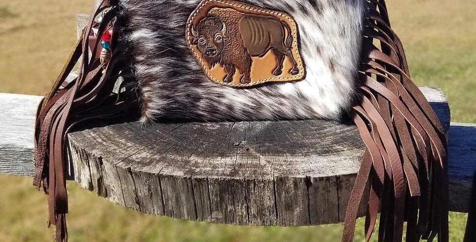 Hair on Buffalo Clutch