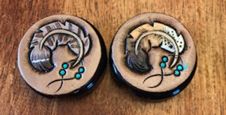 Feather Stethoscope ID tags