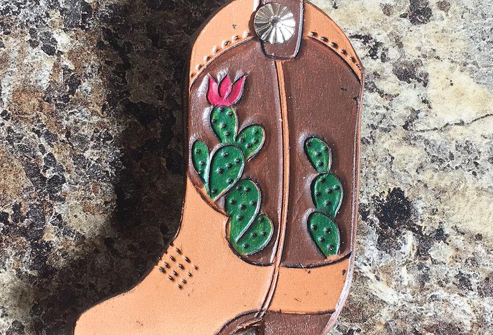 Pink Cactus Key Case