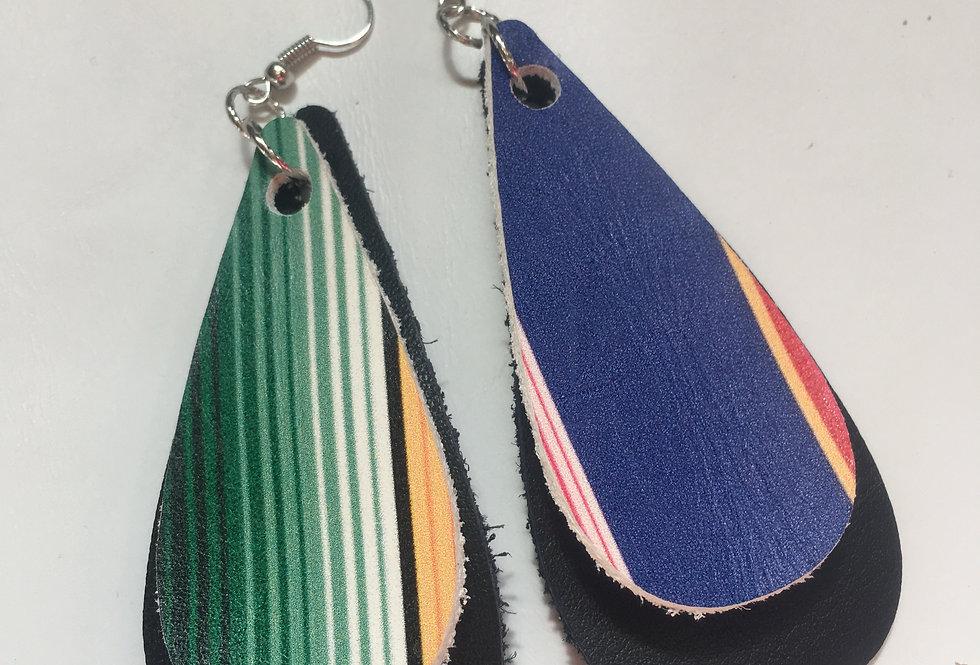 Black Serepe earring