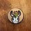 Thumbnail: Steer Skull Stethoschope ID tag