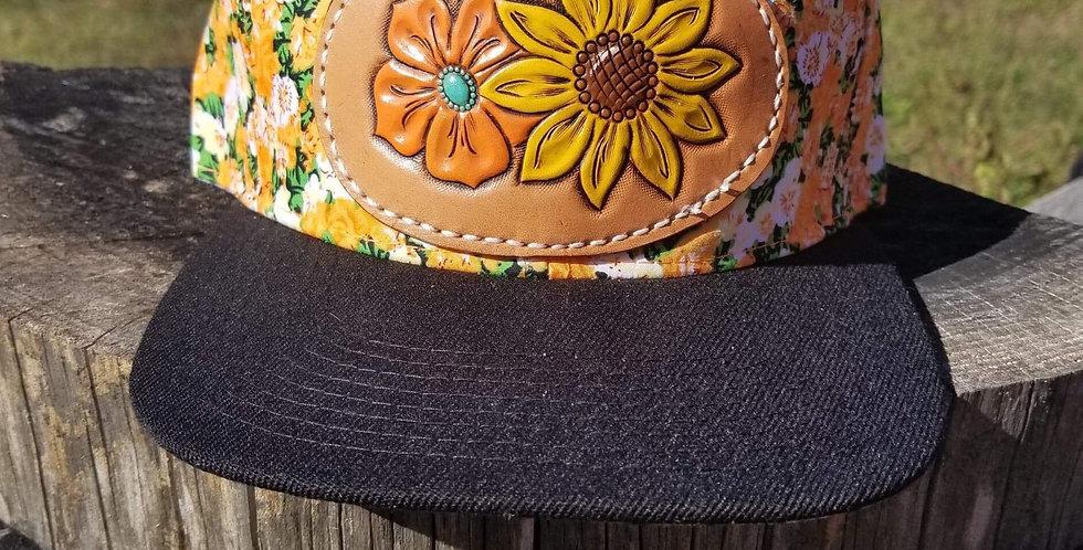 Sunflower Floral Hat