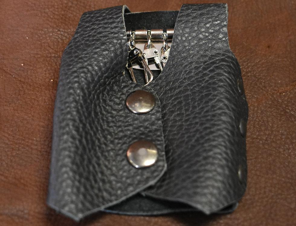 Leather Vest Key Carrier Case
