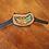 Thumbnail: Blue Gold Feather Stethoscope Yoke