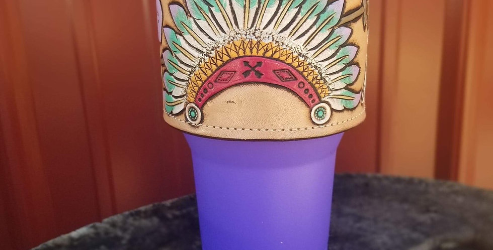 Headdress Tumbler Cuff (cup not included)