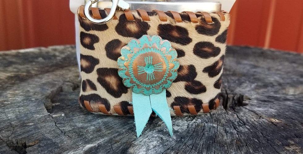 Cheetah Turquoise Pendant- Small
