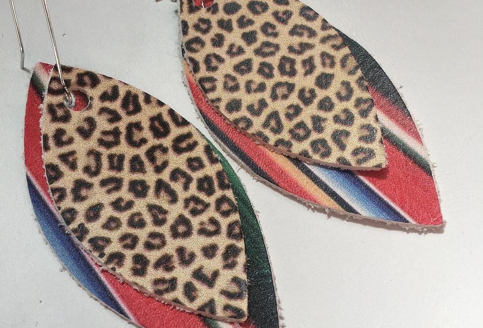 Cheetah Serepe Earring