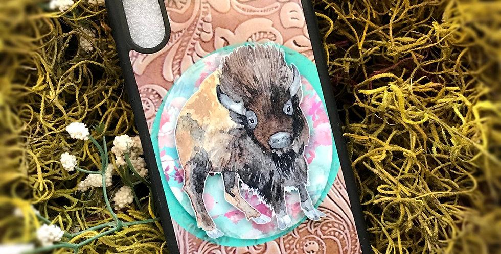 Leather Buffalo Phone Case