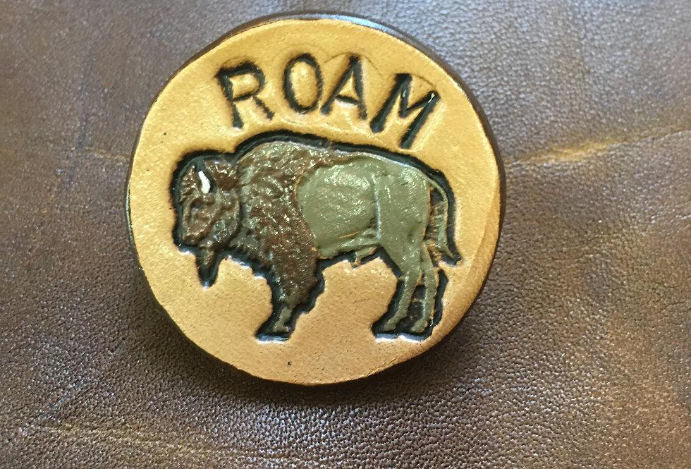 Buffalo Roam Small Hat pin