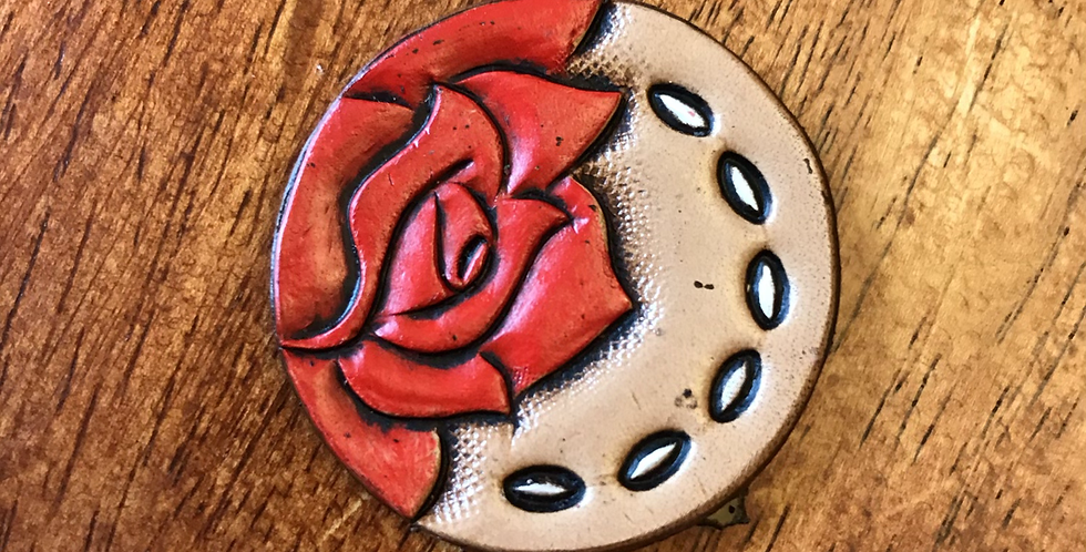 Red Rose Phone Grip Topper