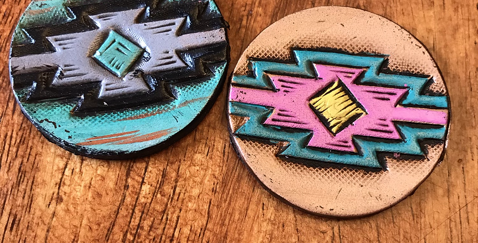 Colorful Aztec Phone Grip Topper