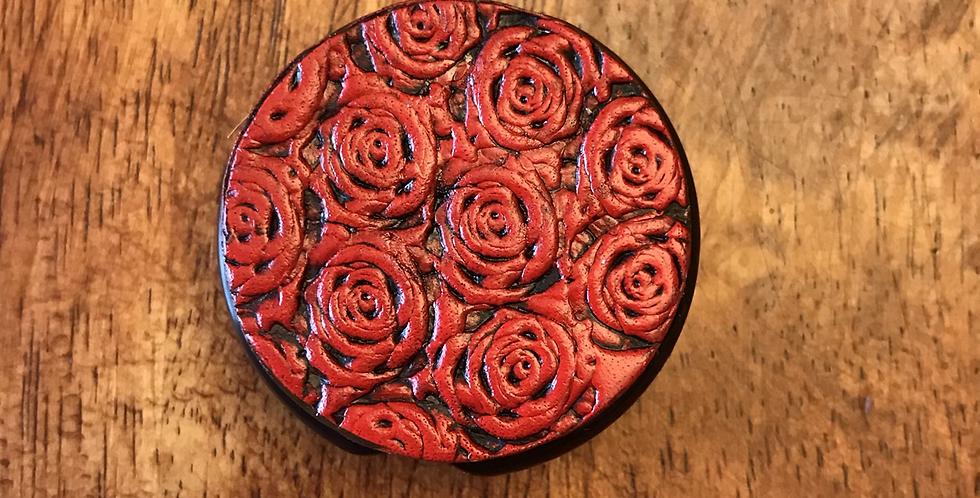 Rose Stethoscope ID Tag