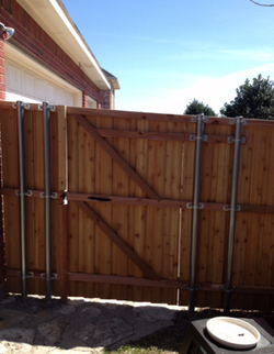 Fence & Entry Gate