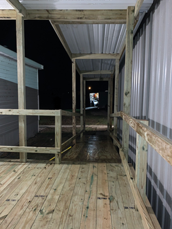 Completed Deck/Ramp (before stain)