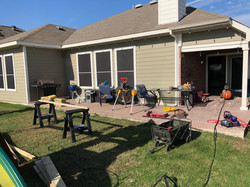 Before Deck Extension