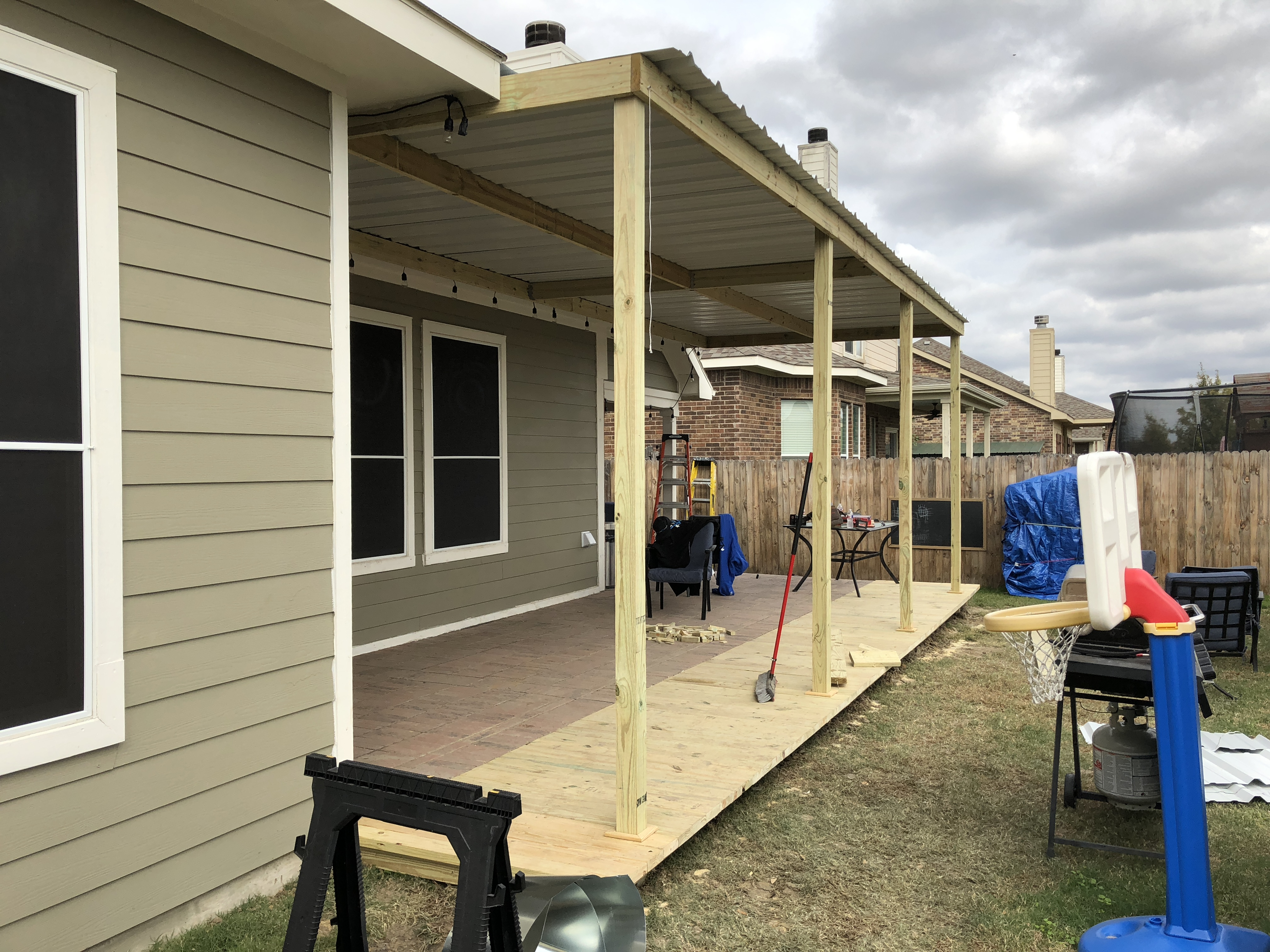 Deck Extension and Patio Cover