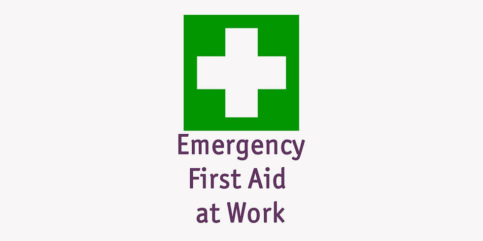 Emergency First Aid At Work  SOLD OUT