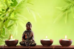 Peaceful Acupuncture Buddha