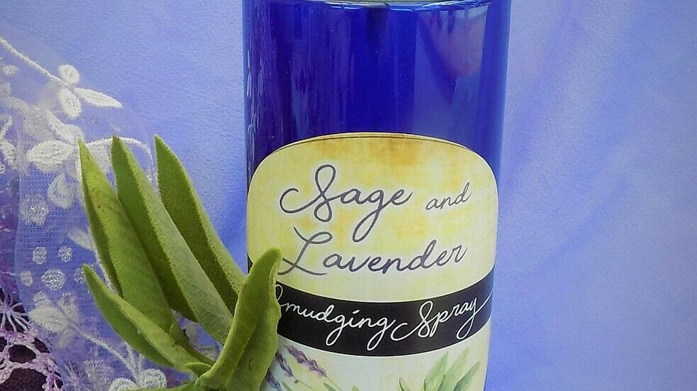 Lavender & White Sage Smudging Spray 250ml XXL