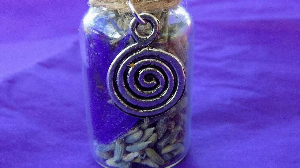 Ease Anxiety Witch Bottle- A Magical Talsimann