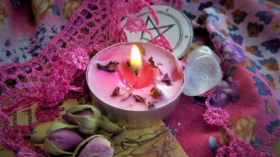 Love Handmade Spell Votive Simple and Powerful