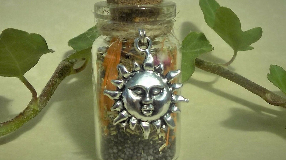 Lift Depression Witch Bottle- A Magical Talisman
