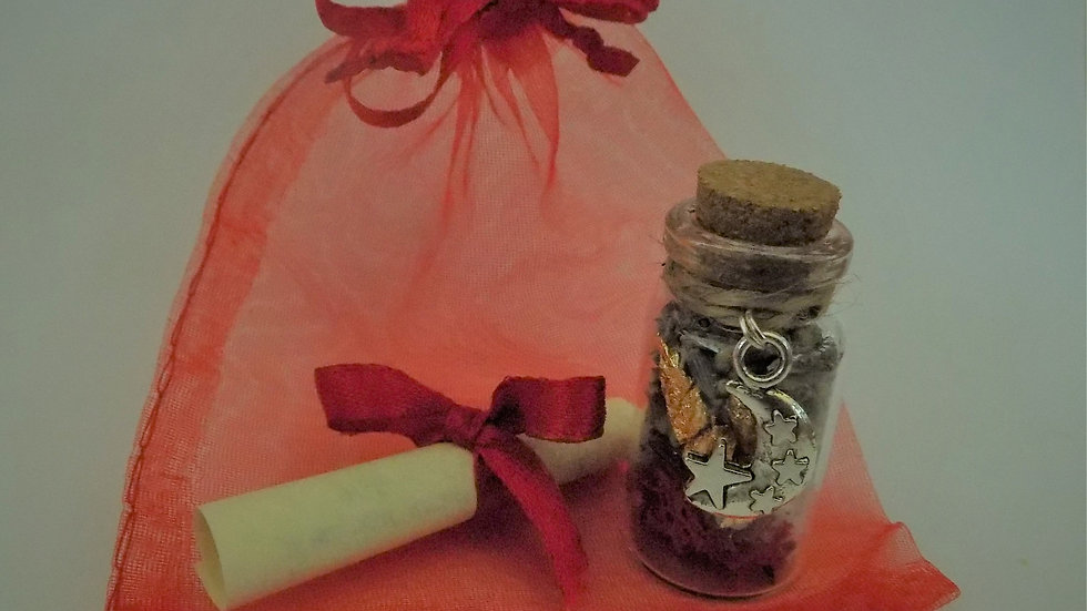 Weight Loss Witch Bottle- a Magical Talisman