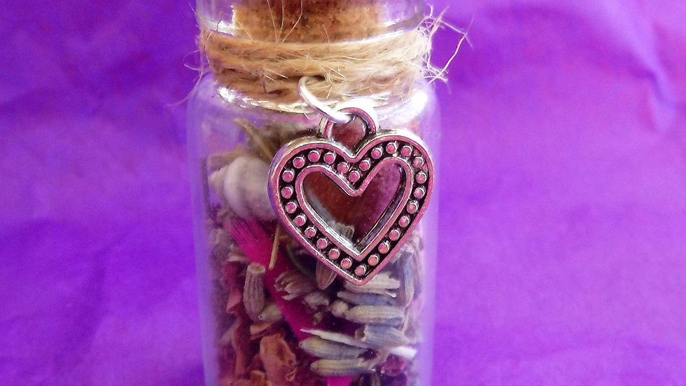 Love Witch Bottle- A Magical Talisman