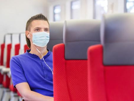 Правила ношения масок в поезде