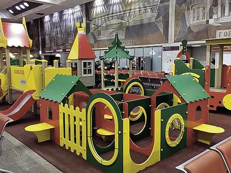 46 вокзалов будут оборудованы детскими игровыми площадками до конца 2018 года