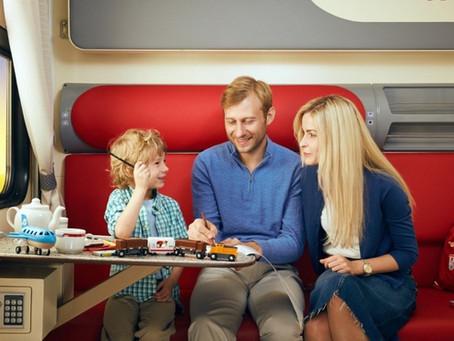 Игры для детей в поезде