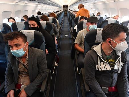 Правила ношения масок в самолете