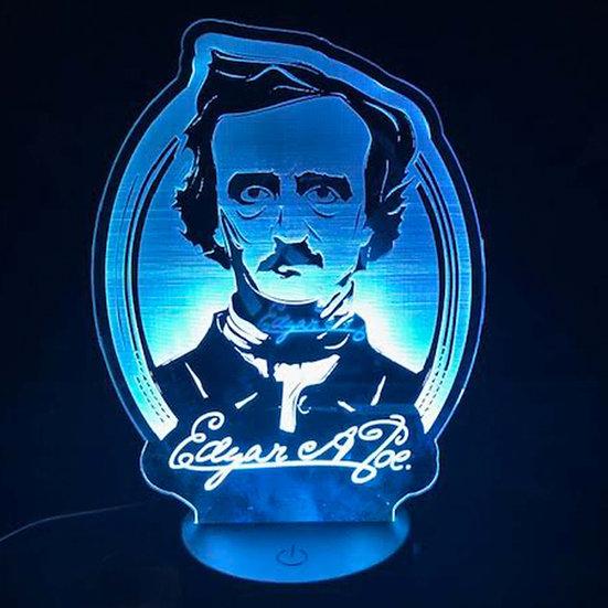 Light Up Art: Edgar Allan Poe