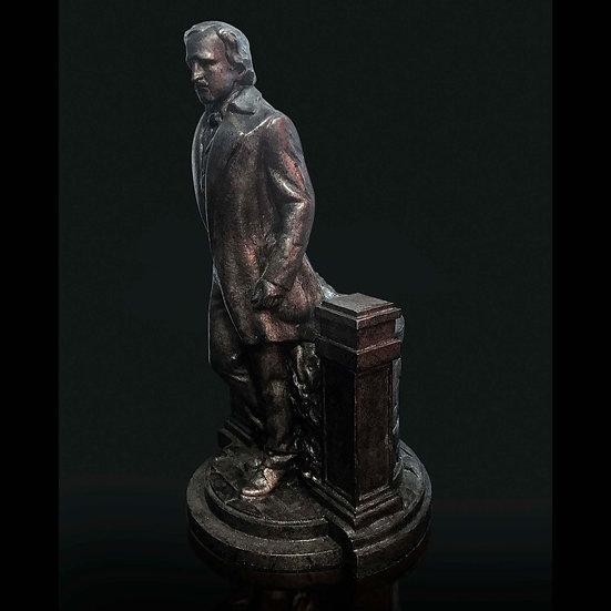 Edgar Allan Poe Sculpture