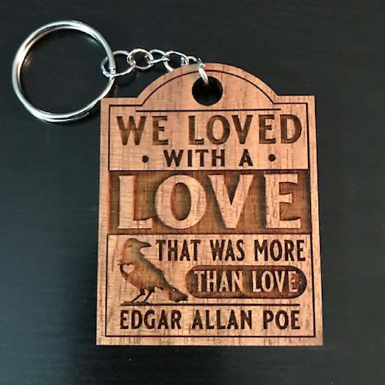 Wooden Keychain: More Than Love