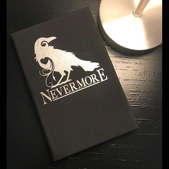 Journal: Black Leatherette: Nevermore