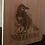 Thumbnail: Bamboo Serving Paddle: Raven Nevermore