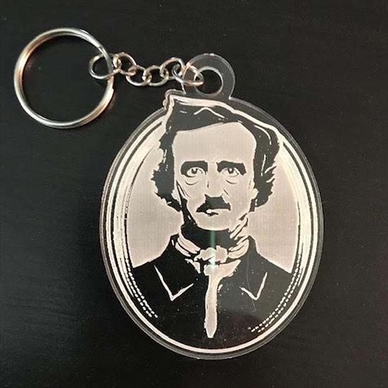 Acrylic Keychain: Edgar Allan Poe