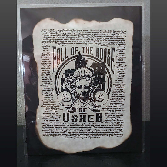 Distressed Print: The Fall of the House of Usher