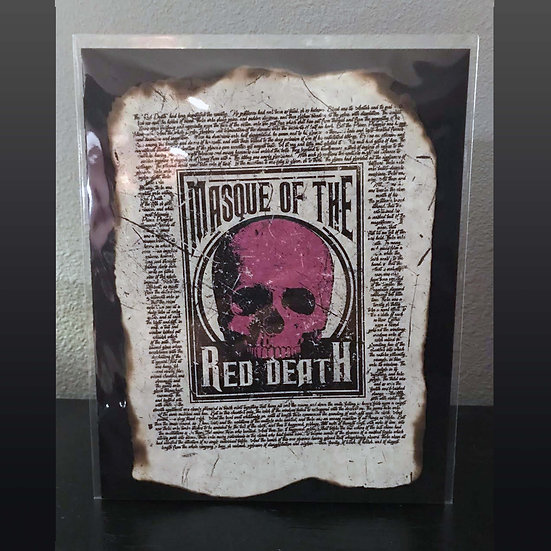 Distressed Print: The Masque of the Red Death