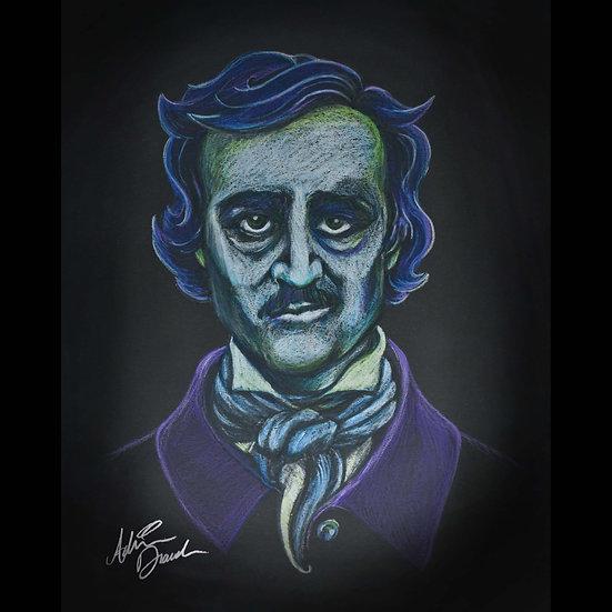 8x10 Print: Prismacolor Poe