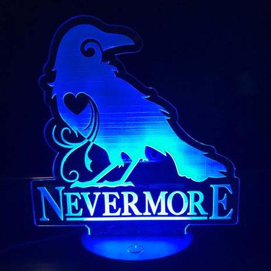 Light Up Art: Nevermore
