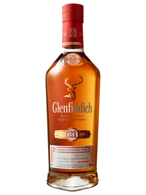 Whisky Glenfiddich 21 Years Reserva Rum Cask