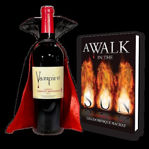 VAMPIRE® CABERNET GIFT SET - With Cape & Novel