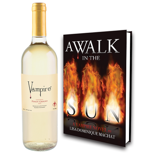 VAMPIRE® PINOT GRIGIO  & A WALK IN THE SUN COMBO