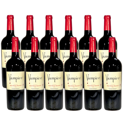 VAMPIRE® RED WINE BLEND 12 BOTTLE CASE
